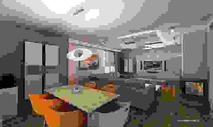 Modern dining room by MYSprojekt projektowanie wnętrz Modern