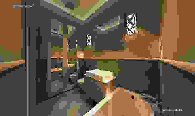Classic style bathroom by MYSprojekt projektowanie wnętrz Classic