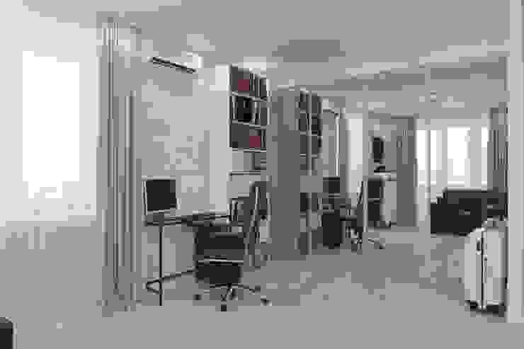 Minimalist study/office by Антон Булеков Minimalist