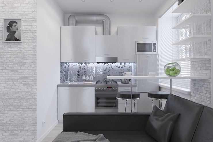 Minimalist dining room by Антон Булеков Minimalist