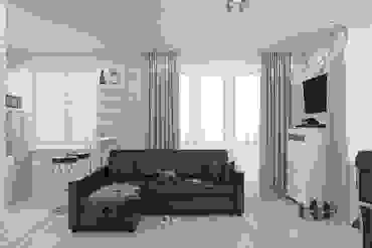 Minimalist bedroom by Антон Булеков Minimalist
