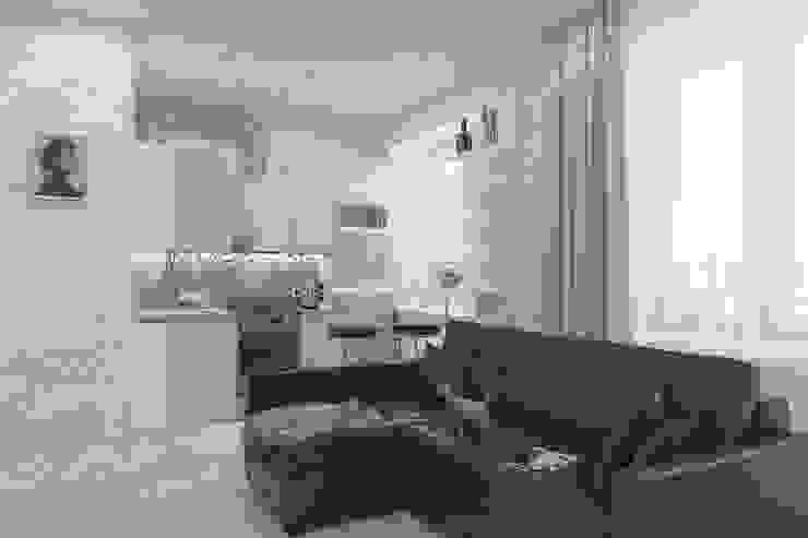 Minimalist kitchen by Антон Булеков Minimalist