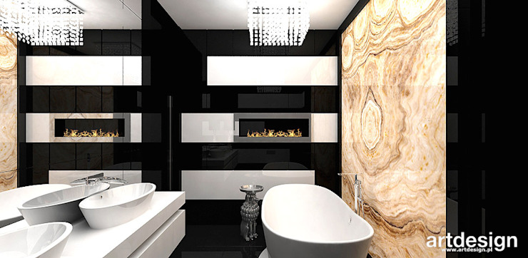 Modern style bathrooms by ARTDESIGN architektura wnętrz Modern