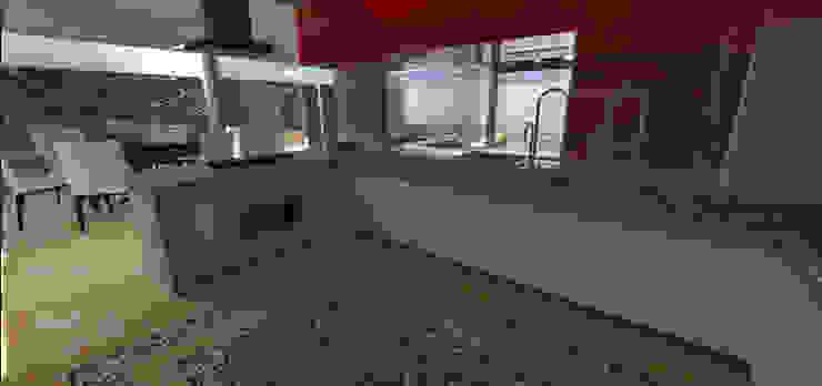 casa em Poços de Caldas Cozinhas modernas por Futura Arquitetos Associados Moderno