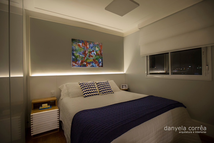 Casas Quartos modernos por Danyela Corrêa Moderno