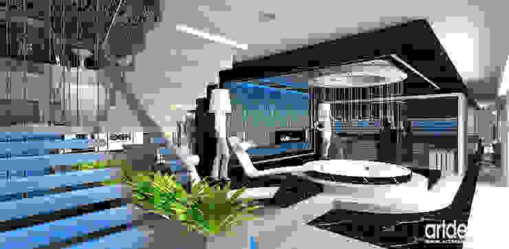 Luksusowe spa Nowoczesne spa od ARTDESIGN architektura wnętrz Nowoczesny