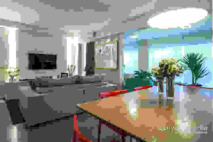 Casas Salas de jantar modernas por Danyela Corrêa Moderno