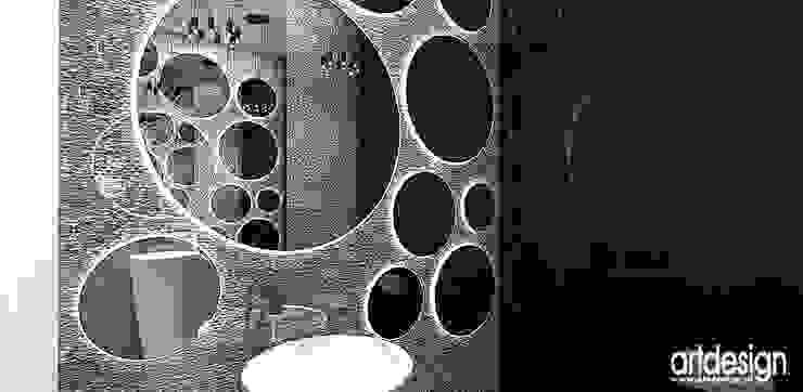 Łazienka Nowoczesna łazienka od ARTDESIGN architektura wnętrz Nowoczesny