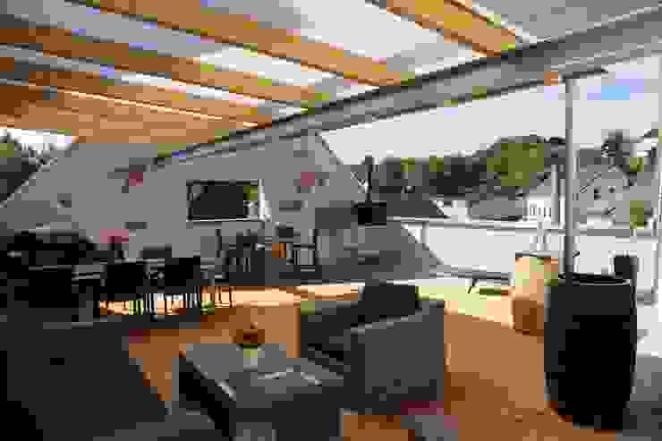 Balcon, Veranda & Terrasse originaux par erdudatz Éclectique