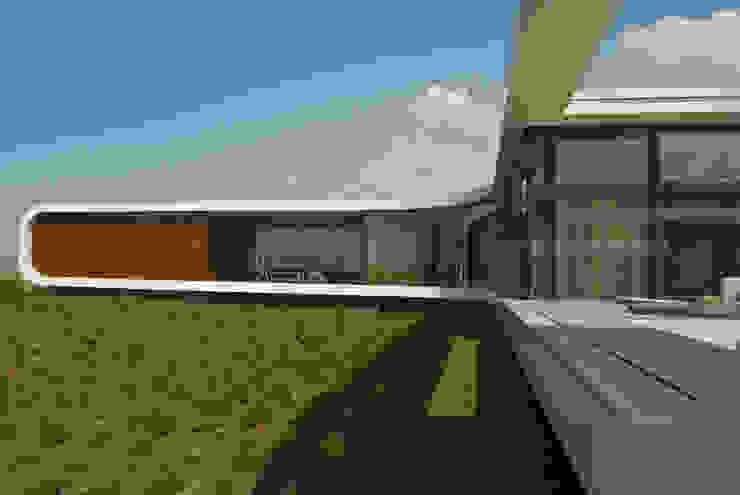 Villa New Water Moderne huizen van Waterstudio.NL Modern