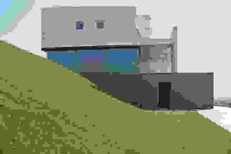 Waterfront villa Moderne huizen van Waterstudio.NL Modern