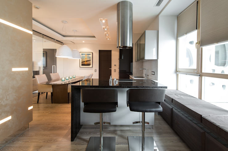 Men's apartment Кухня в стиле модерн от Ольга Райская Модерн