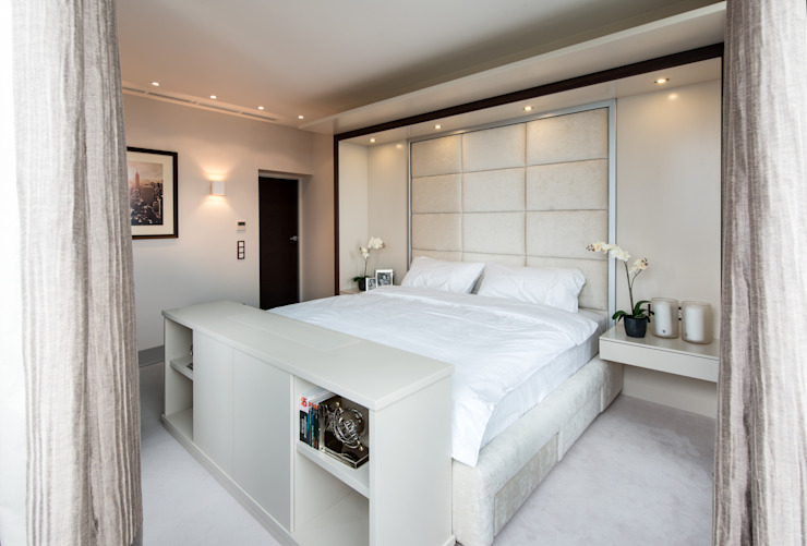 Men's apartment Спальня в стиле модерн от Ольга Райская Модерн МДФ