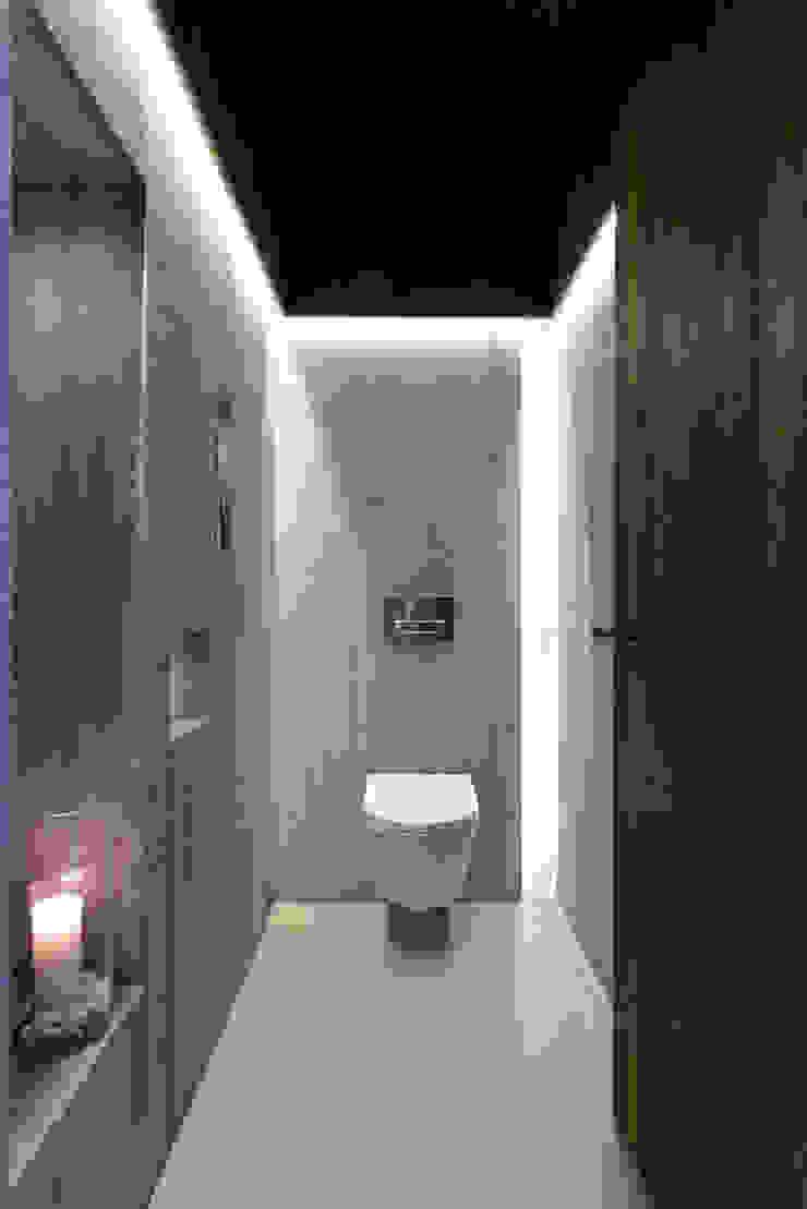 Baños modernos de Ricardo Moreno Arquitectos Moderno