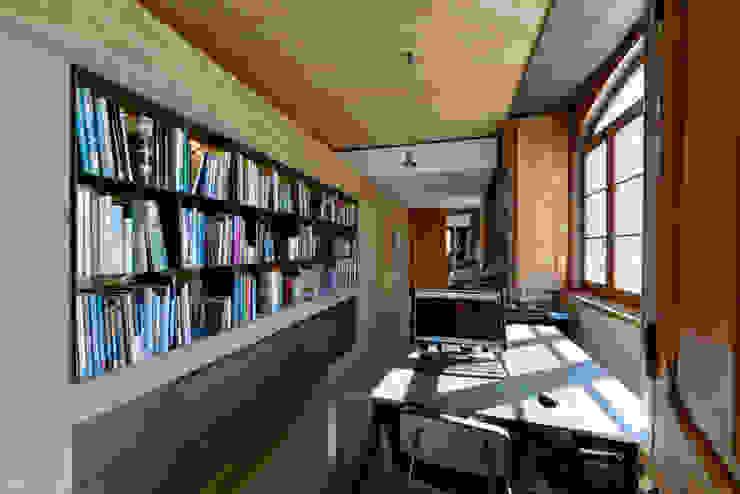 Ricardo Moreno Arquitectos Oficinas y bibliotecas de estilo moderno