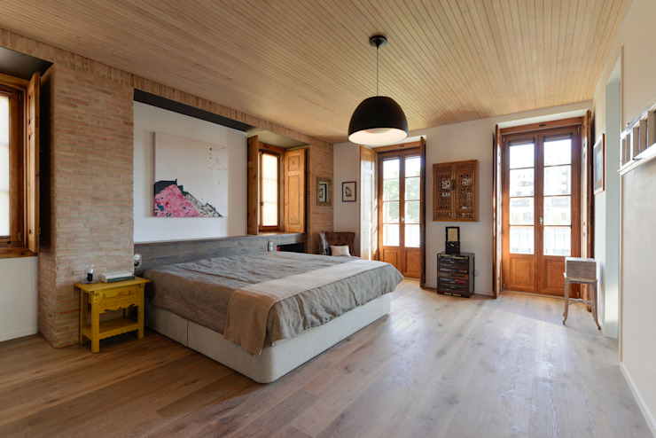Bedroom by Ricardo Moreno Arquitectos,