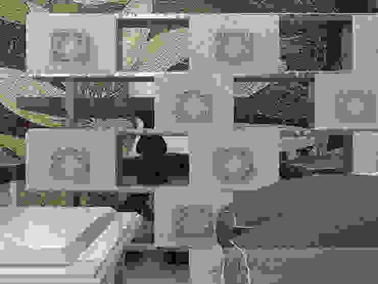 дизайн проект на проспекте Маршала Жукова от JULIA KABANOVA's DESIGN STUDIO Эклектичный Дерево Эффект древесины