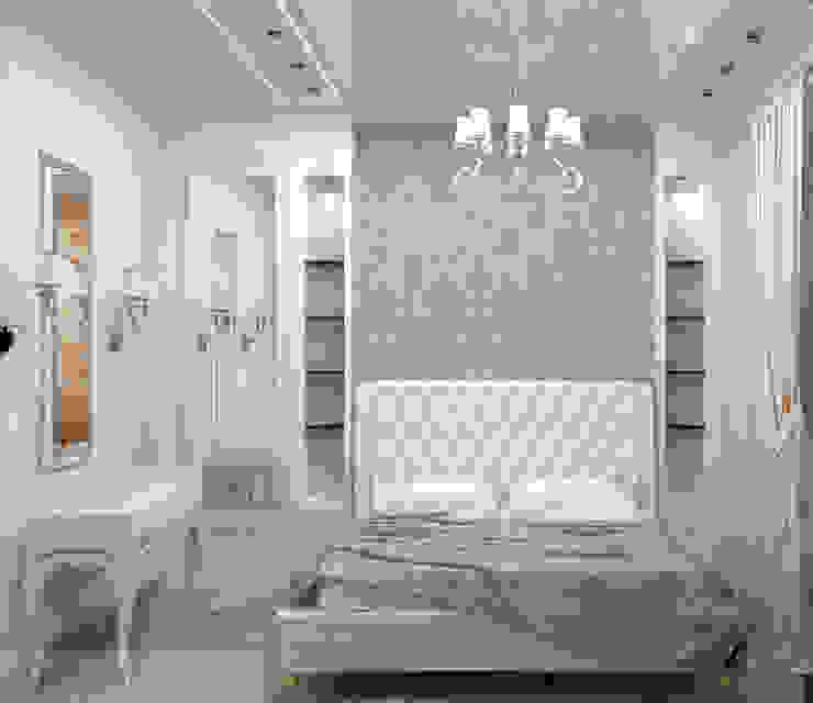 дизайн проект на проспекте Маршала Жукова Спальня в классическом стиле от JULIA KABANOVA's DESIGN STUDIO Классический