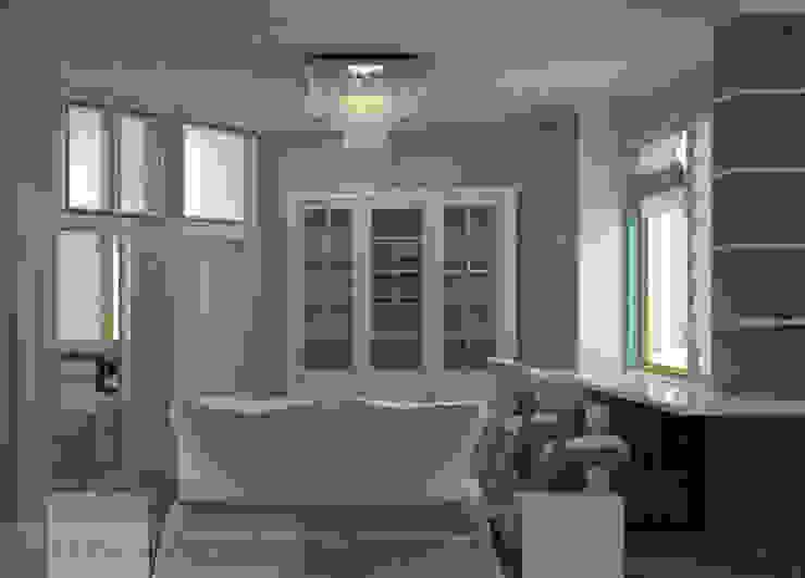 дизайн проект на проспекте Маршала Жукова Детские комната в эклектичном стиле от JULIA KABANOVA's DESIGN STUDIO Эклектичный
