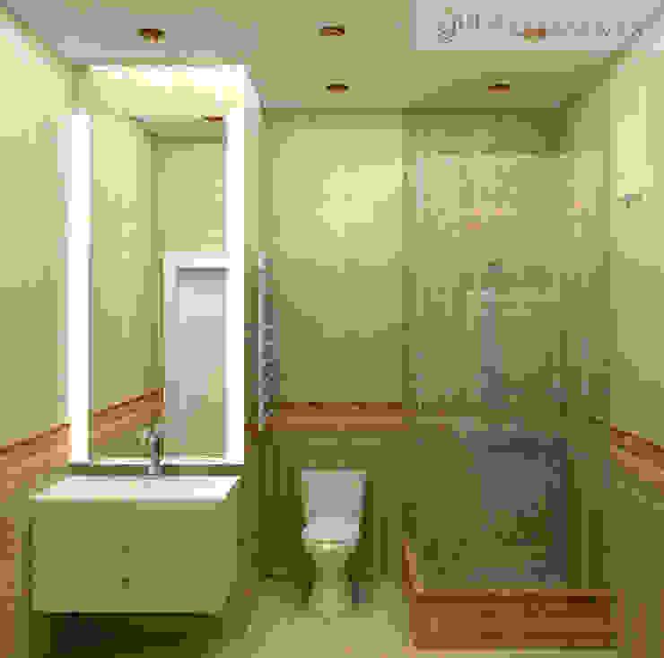 дизайн проект на проспекте Маршала Жукова Ванная в классическом стиле от JULIA KABANOVA's DESIGN STUDIO Классический