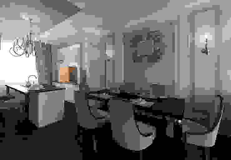 Новые Вешки Столовая комната в классическом стиле от osavchenko Классический