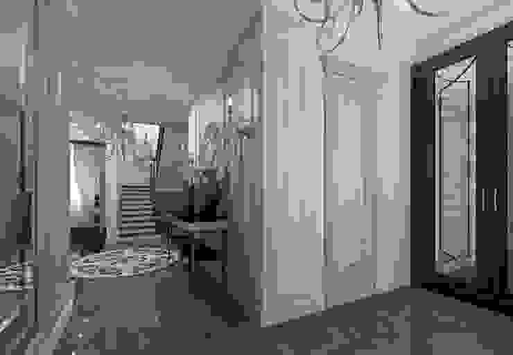 Новые Вешки Коридор, прихожая и лестница в классическом стиле от osavchenko Классический