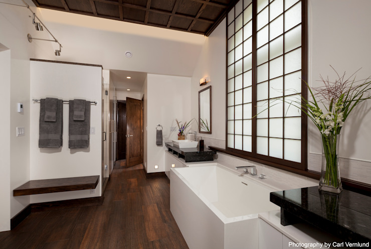 Bathroom by Penguin Environmental Design L.L.C., Asian