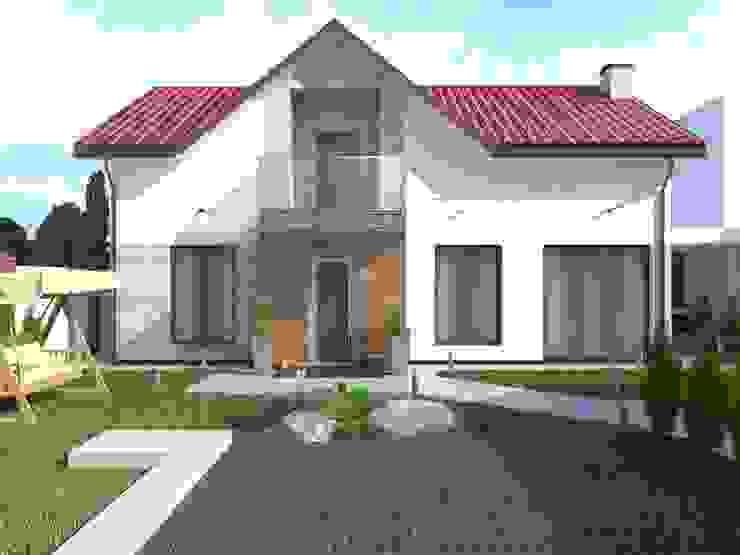 Klasyczne domy od Kucherenko Design Klasyczny