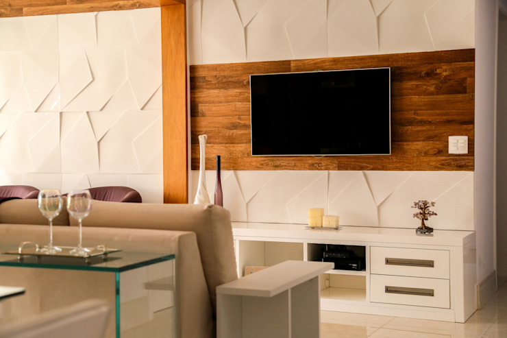 Modern Living Room by Z3 Modern Cork
