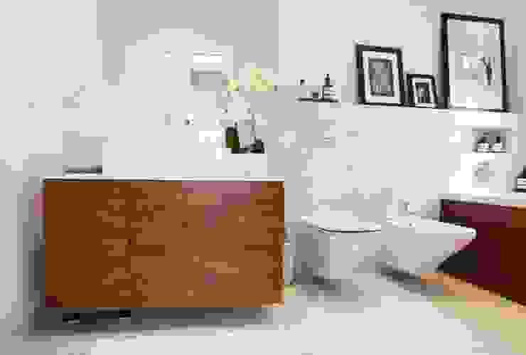 Realizacja 12 Nowoczesna łazienka od MGN Pracownia Architektoniczna Nowoczesny