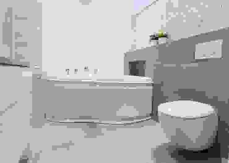 Realizacja 10 Nowoczesna łazienka od MGN Pracownia Architektoniczna Nowoczesny