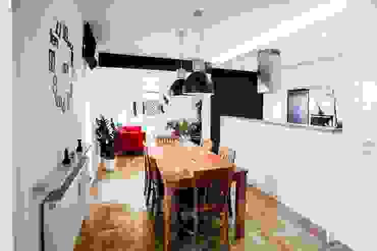 Modern dining room by MGN Pracownia Architektoniczna Modern