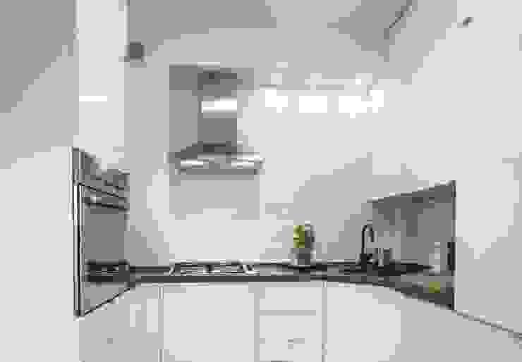 Realizacja 7 : styl , w kategorii Kuchnia zaprojektowany przez MGN Pracownia Architektoniczna,Nowoczesny