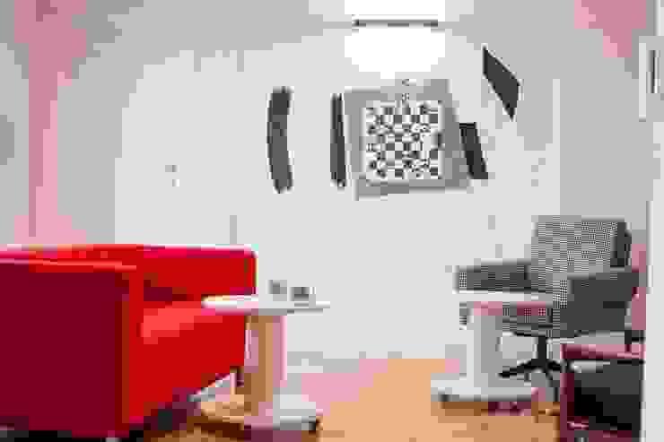 Realizacja 6 Nowoczesny salon od MGN Pracownia Architektoniczna Nowoczesny