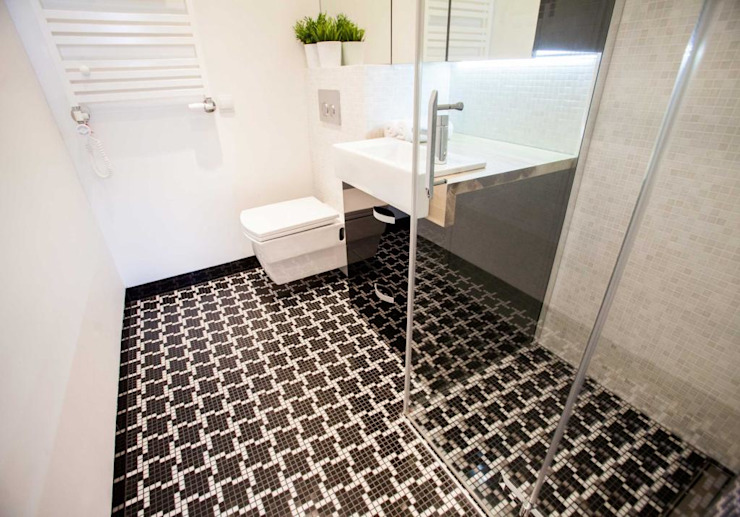 Modern bathroom by MGN Pracownia Architektoniczna Modern