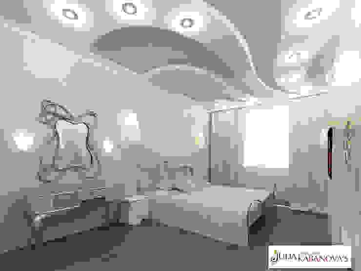 Дизайн проект на ул.Таганской Спальня в классическом стиле от JULIA KABANOVA's DESIGN STUDIO Классический