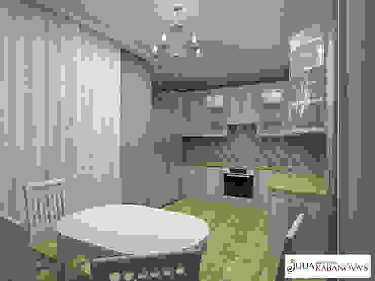 Дизайн проект на ул.Таганской Медиа комната в классическом стиле от JULIA KABANOVA's DESIGN STUDIO Классический