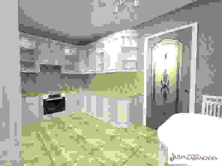 Дизайн проект на ул.Таганской Кухня в классическом стиле от JULIA KABANOVA's DESIGN STUDIO Классический