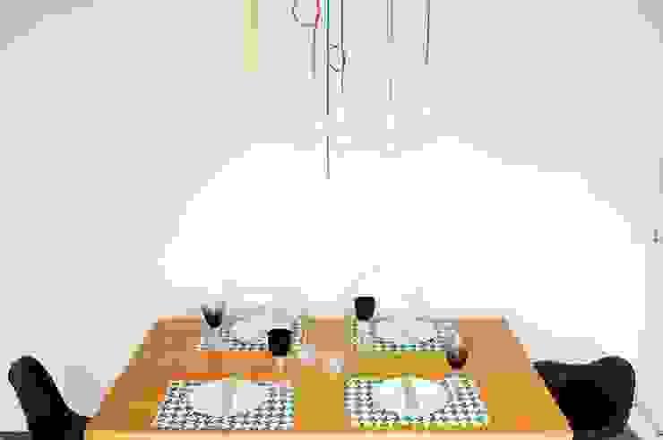 Cromalux Sistemas de Iluminação Ltda Dining roomLighting Aluminium/Zinc Multicolored