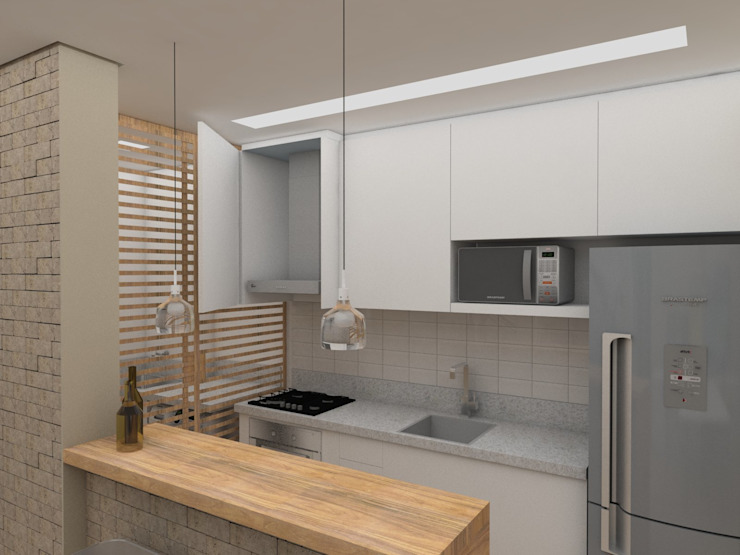 Kitchen by UNUM - ARQUITETURA E ENGENHARIA,