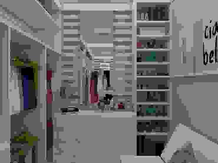 UNUM - ARQUITETURA E ENGENHARIA Modern Giyinme Odası