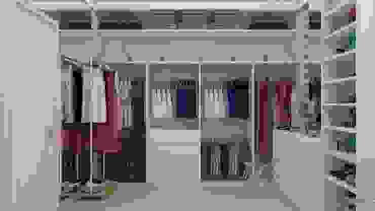 Modern Giyinme Odası UNUM - ARQUITETURA E ENGENHARIA Modern