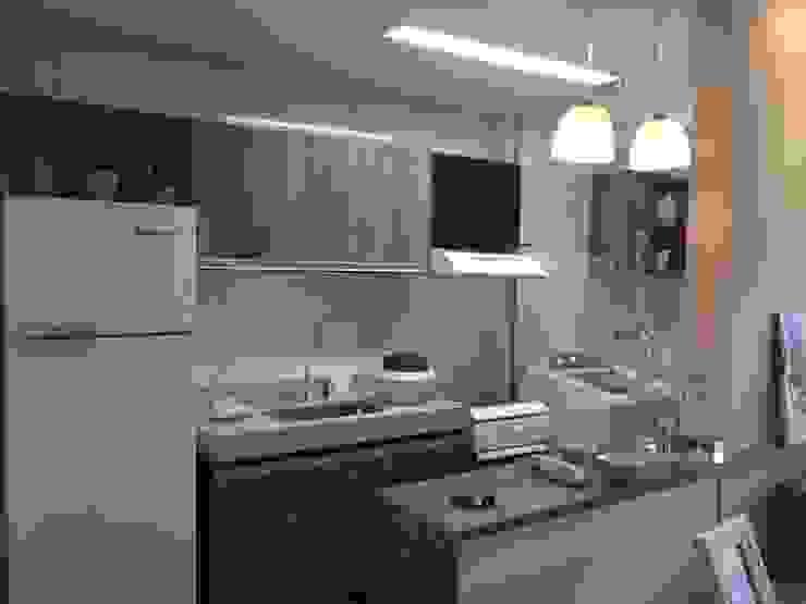 Kitchen by Débora Campos Arquiteta, Modern