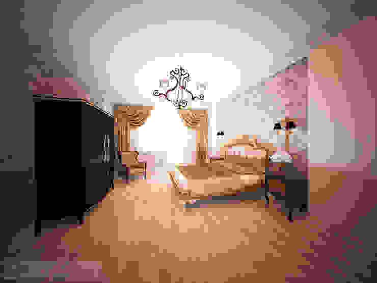 дизайн проект на ул.Строителей Спальня в классическом стиле от JULIA KABANOVA's DESIGN STUDIO Классический