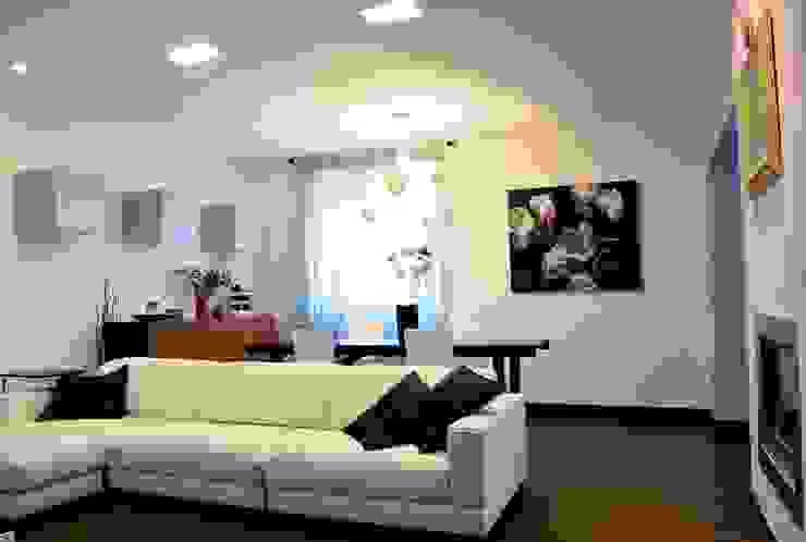 Salas de estilo moderno de Federico Pisani Architetto Moderno