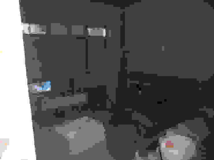 кабинет до и во время начала ремонта от JULIA KABANOVA's DESIGN STUDIO