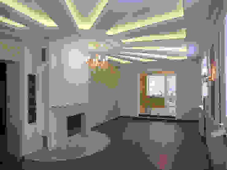 гостиная после ремонта от JULIA KABANOVA's DESIGN STUDIO