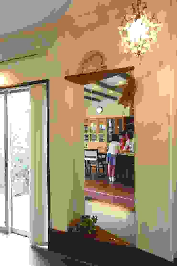 茨木の家 モダンスタイルの 玄関&廊下&階段 の 株式会社 atelier waon モダン