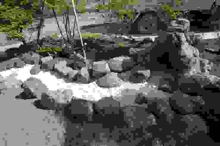 合同会社 栗原弘建築設計事務所 Garden Plants & flowers Batu White