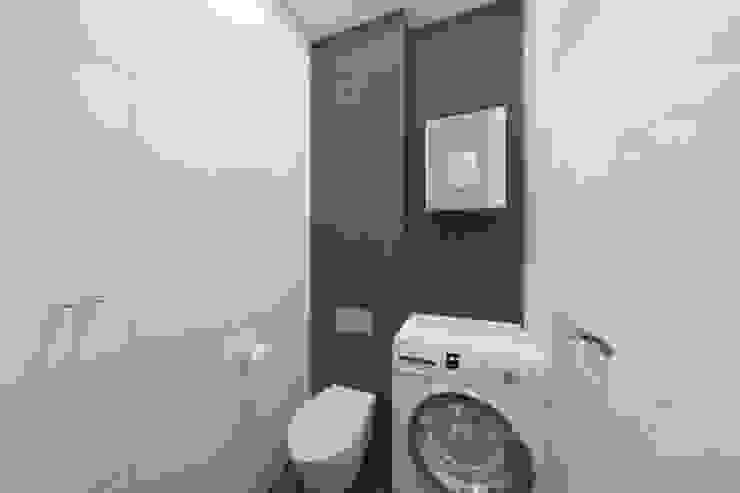 Проектик холостяка Ванная комната в стиле минимализм от Ivantsov design studio Минимализм